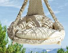 Nido luxury hanging swing